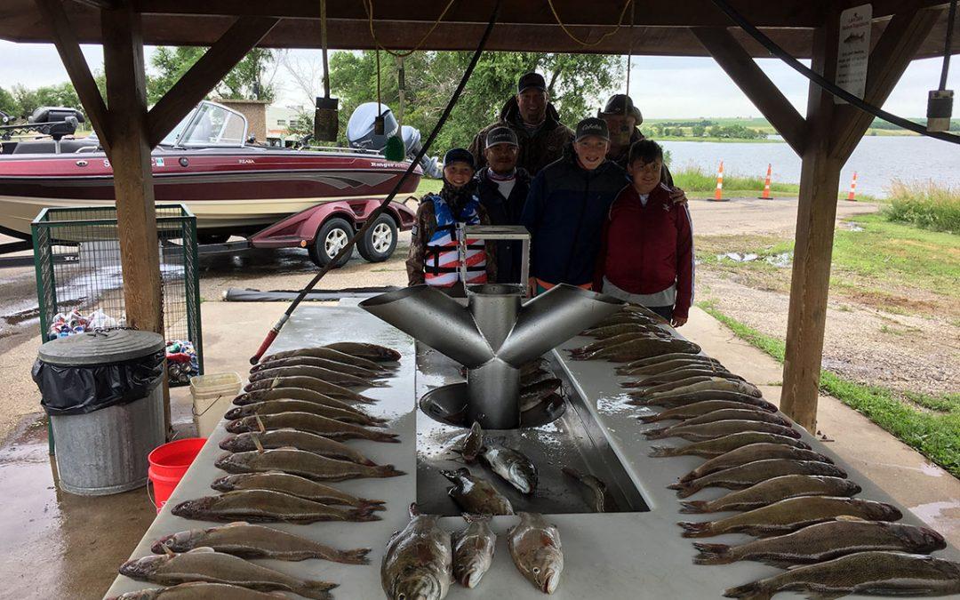Walleye Heading Deeper & Growing Larger