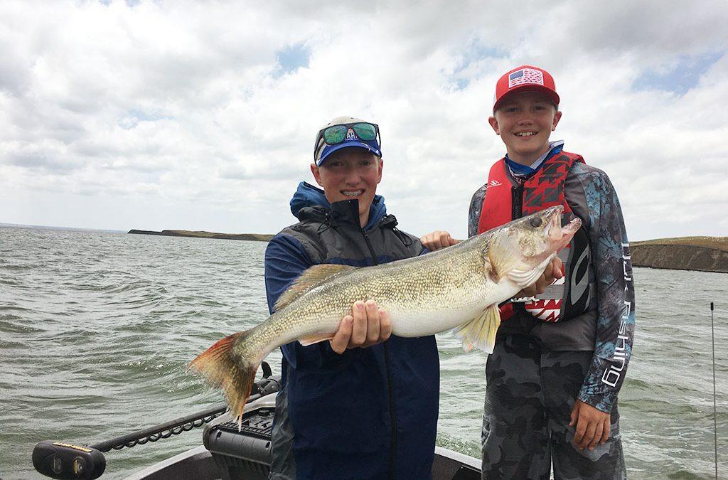 Cole's 8.5 pound walleye